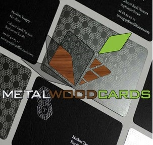 Metal business cards timmichael4 black metal business cards reheart Images